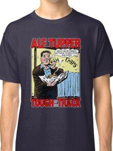 Alf Tupper Tough of the Track Comic Fish & Chips Classic T-Shirt