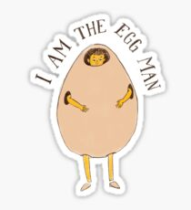 Egg man Sticker