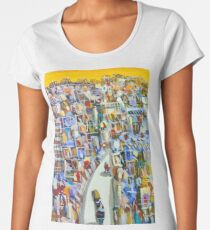 Moving ahead Women's Premium T-Shirt