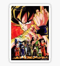 Dragon Ball Z - Goku And Friends Sticker