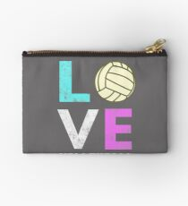 Awesome Girls & Womens Volleyball Gift They LOVE Volleyball Studio Pouch