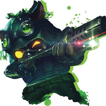League Of Legends - Omega Squad Teemo by SimpleDesignes