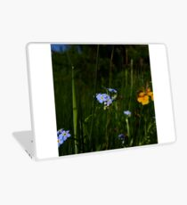 Water Forget-me-not (Myosotis scorpioides) Laptop Skin