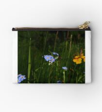 Water Forget-me-not (Myosotis scorpioides) Studio Pouch