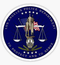 Los Angeles Police Department Seal Sticker