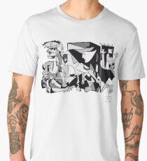 Pablo Picasso Guernica 1937 Artwork Shirt, Art Reproduction Men's Premium T-Shirt