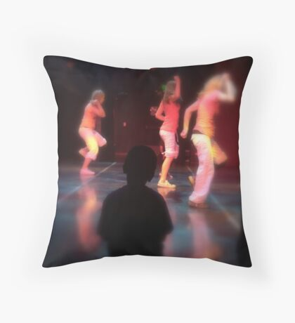 portrait of a student Throw Pillow