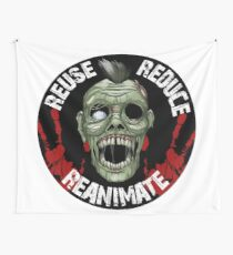 Reuse>Reduce>Reanimate (Alt Color Option) Wall Tapestry
