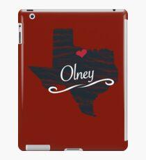 Olney - Texas TX Souvenir - T-Shirts Stickers Apparel Gifts iPad Case/Skin
