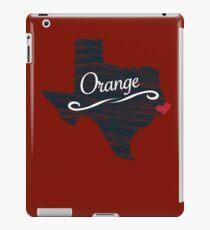 Orange - Texas TX Souvenir - T-Shirts Stickers Apparel Gifts iPad Case/Skin