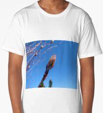 The Saskatoon Bud Unfurling Long T-Shirt