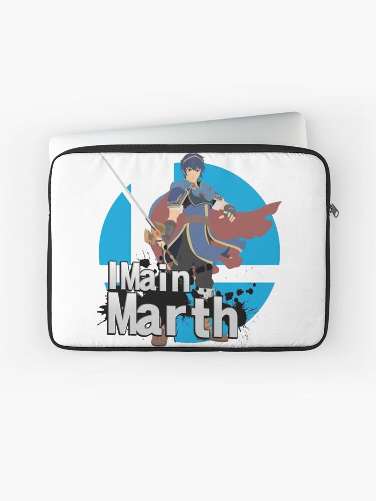 I Main Marth - Super Smash Bros  Ultimate | Laptop Sleeve