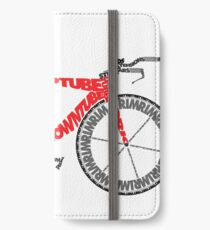 Anatomy of a Time Trial Bike iPhone Wallet/Case/Skin