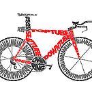 Anatomy of a Time Trial Bike by jarodface