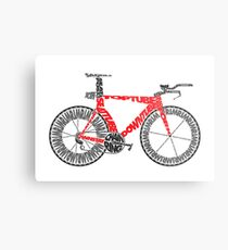 Anatomy of a Time Trial Bike Metal Print