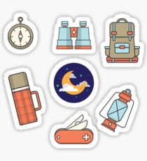 Camping! Sticker