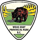 Wells Gray Provincial Park Vintage Travel Decal by hilda74