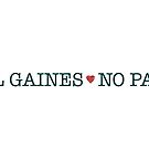 All Gaines, no pains. by Stevemckinnis