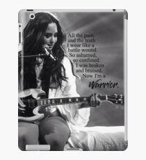 "Vinilo o funda para iPad Demi Lovato ""Guerrero"""