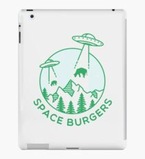 SPACE BURGERS iPad Case/Skin