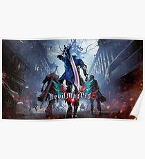 Devil May Cry 5 Designs Poster