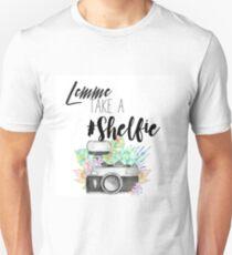 Lemme Take A #Shelfie Unisex T-Shirt