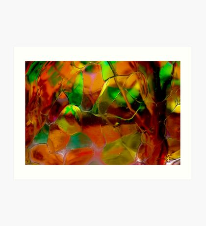 Autumn Glass Art Print