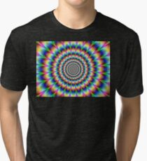 Psychedelic Illusion Tri-blend T-Shirt