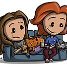 Domestic Wayhaught by Iddstar