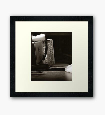 Sharon Shannon's Box Framed Print