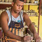 Cuba. Trinidad. Pottery Master. by vadim19