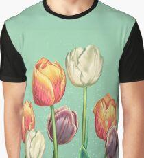 April Tulips Graphic T-Shirt