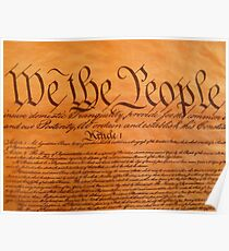 We the people of america Poster