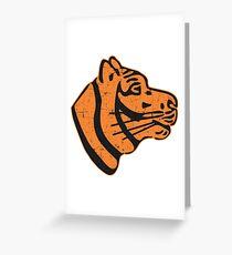 509nd Heavy Panzer Battalion - (schwere Panzerabteilung) - Grunge Style Greeting Card