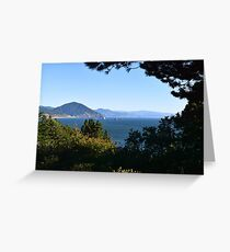 Port Orford Heads, Curry County, Oregon Greeting Card