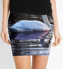 Royal Swan Mini Skirt