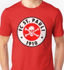 ST. PAULI Skull Logo Unisex T-Shirt