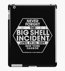 Never Forget The Big Shell Incident - MGS2 iPad Case/Skin