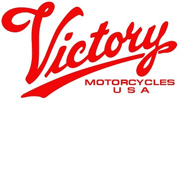 Victory Motorcycle Red Logo by ditditcool