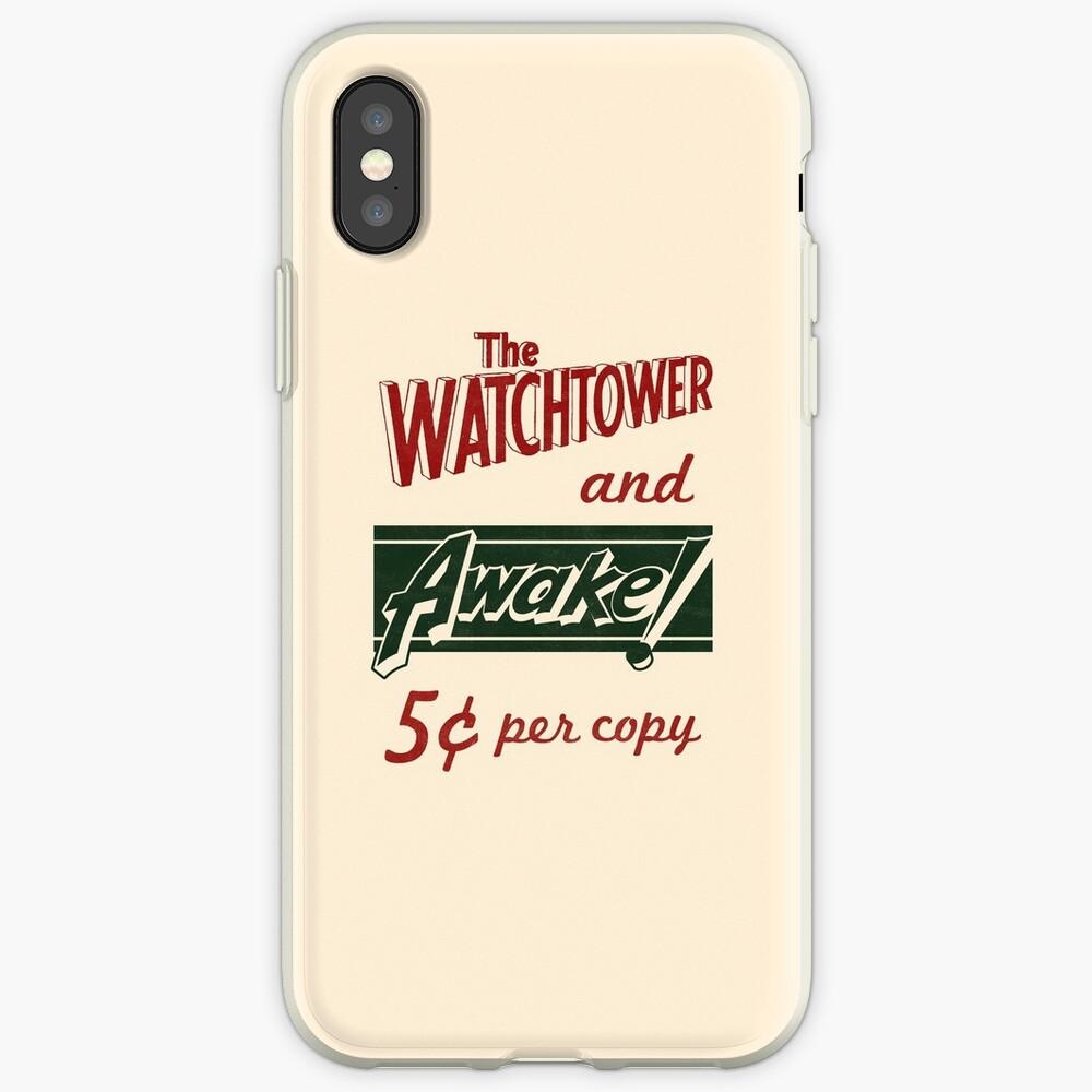 WATCHTOWER & AWAKE! VINTAGE MESSENGER BAG iPhone Case & Cover
