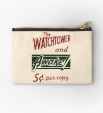 WATCHTOWER & AWAKE! VINTAGE MESSENGER BAG Studio Pouch