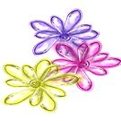 Three Glassy Daisy Design from Green Bee Mee  by GreenBeeMee