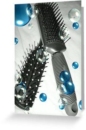 Brush away the Blues by dstarj