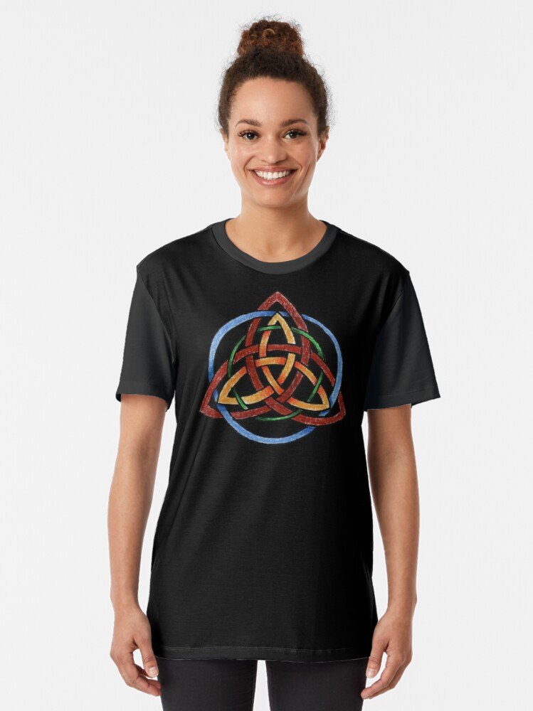 Alternate view of Harmony of the Elements Graphic T-Shirt