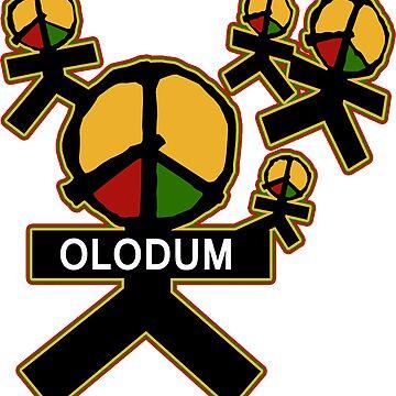 Símbolo de Olodum de ditditcool