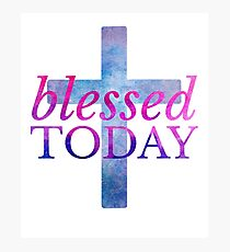 Blessed Cross Photographic Print