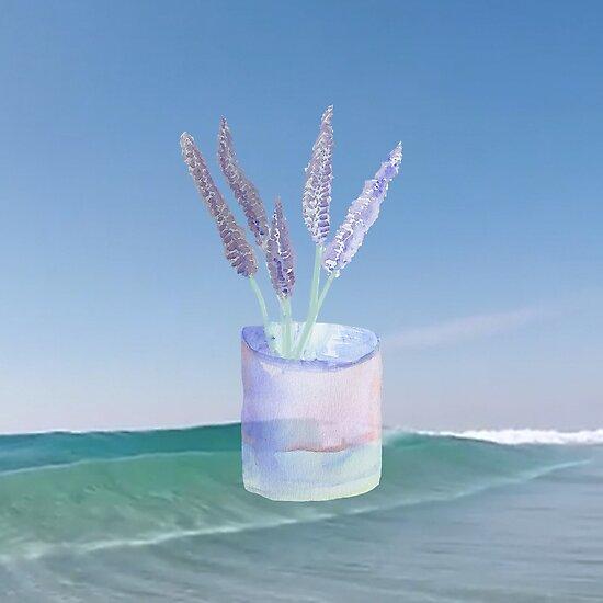 Lavender by stempluspetal