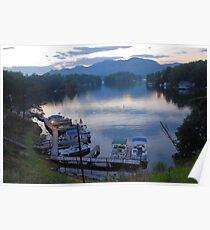 Lake Lure Sunset Poster