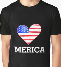 'merica Graphic T-Shirt