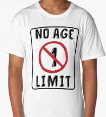 No Age Limit 1st Birthday Gifts Funny B Day For 1 Year Old Long T